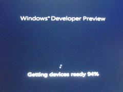 Windows 8 developer preview版で遊んでみた!