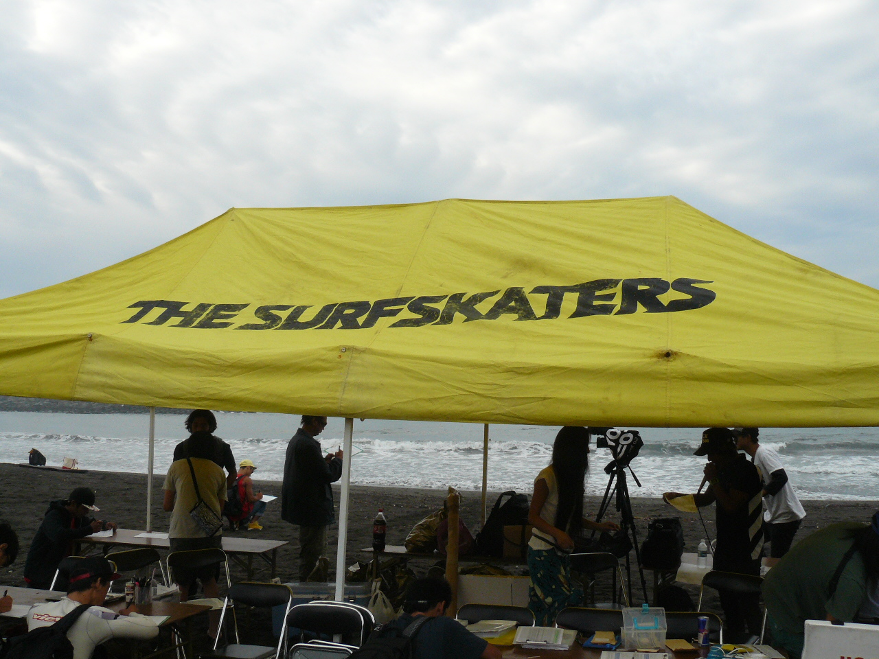 The SurfsKaters in 茅ヶ崎