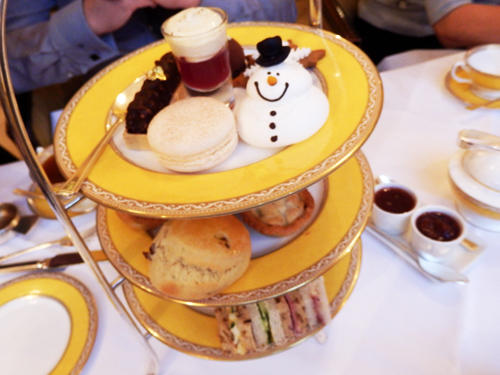 アフタヌーンティー/Afternoon tea in London