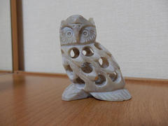 ソープストーン(soap stone owl from Guatemala)