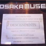Descendents@Osaka Muse(4/4)