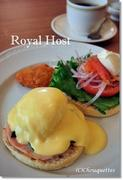 ささやかな楽しみ@Royal HostのEggs Benedict