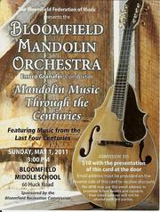Mandolin Concert, May 1st