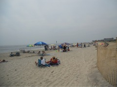 Go to beach, Jersey shore