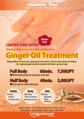 Limited Time Offer! Ginger Oil Treatment