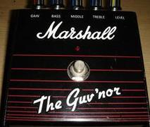 銘器ペダル 〜Marshall Guv'nor