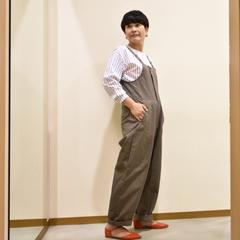 ORDINARY FITS(オーデナリーフィッツ)のサロペット。