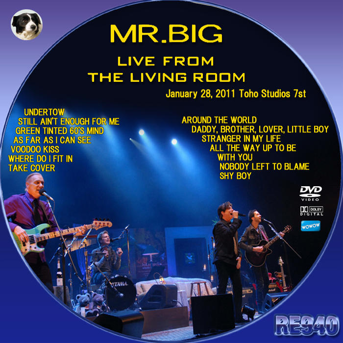 mr big live from the living room re dvd