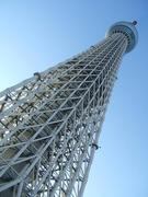 TOKYO SKYTREE and a packet tea - 東京スカイツリーと缶入り紅茶