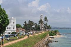 Walking in the Old City of Galle - スリランカ・ゴール旧市街散策