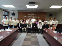 JICA「青年研修」閉講式 Closing Ceremony  for Youth Leaders