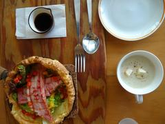 "Dutch Baby Pancakes at ""Mother Coffee""でドイツ風パンケーキ♪"
