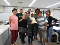 Happy Birthday to Our Mohamed@JICA Seminar Room!