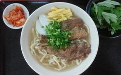 豚骨スープ100%そば(糸満) Soba 100% pork bone broth (Itoman)