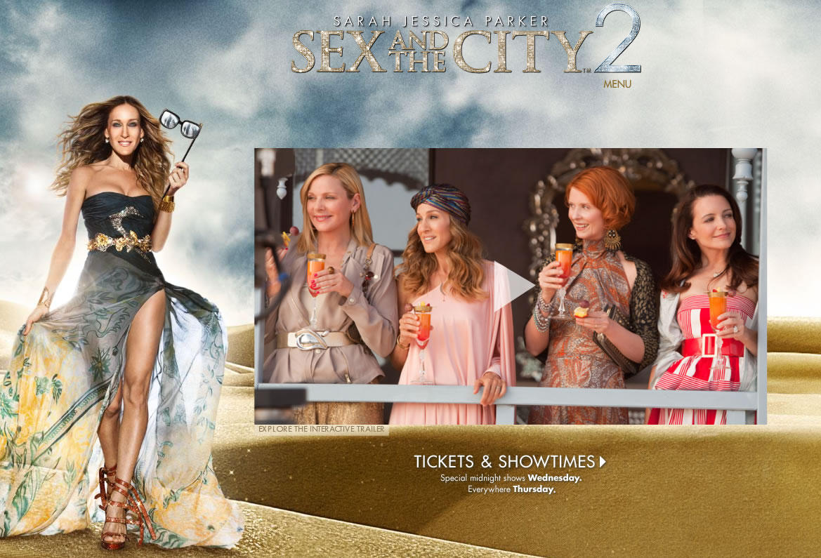 【映画】SEX AND THE CITY2
