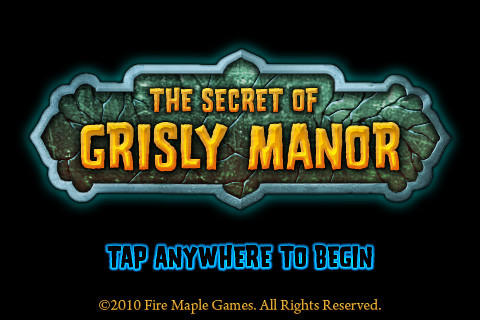The Secret of Grisly Manor{