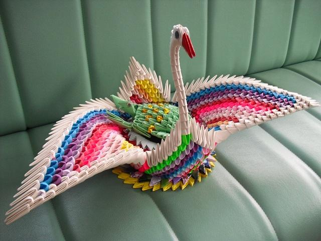 Triangle Origami On Pinterest 3d Origami Origami Swan