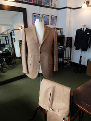 Tweed Suit & Cavalry Twill Trousers