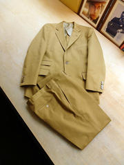 Khaki Cotton Suits