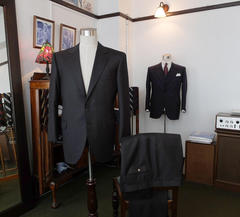 Charcoal Grey, Dark Navy, Grey Chalk Stripe Suits