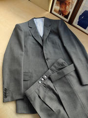 Grey 3-piece Suits