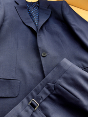 Navy & Cambridge Grey Pick-and-Pick Suits