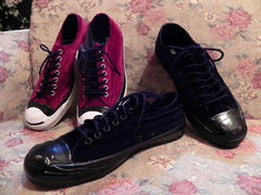 CONVERSE JACK PURCELL VELUDO