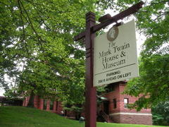 マーク・トゥエインの家  Mark Twain House in Hartford, CT