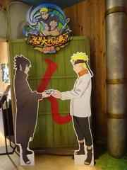 NARUTO忍者ナルトとサスケ in J-WORLD