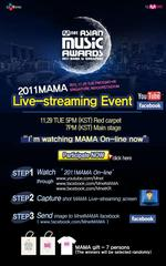 2011 Mnet Asian Music Awards(MAMA)視聴&動画2本追記