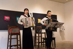 Accordion Live at JIKE STUDIO Aco+Taca アコーディオンライブ