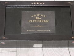 2012 NFL Topps Five Star 開封 3Box目