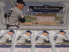 2013 Topps Museum Collection Asia Editon 2Box 開封