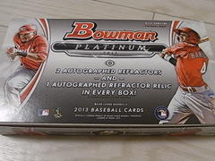 MLB 2013 Bowman Platinum 開封