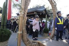 first visits of the year レノンちゃんの初詣