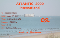Atlantic 2000 international eQSL