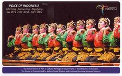 9526kHz Voice of Indonesia QSL