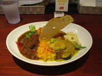 """TOKYO SPICE CURRY""富ヶ谷ランチ(カレー)"