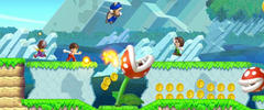 New Super Mario Bros. U Review - Wii U game