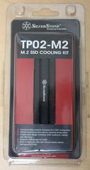 SilverStone M.2 SSD専用放熱ヒートシンク/パッドセット SST-TP02-M2を購
