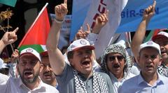 Turks urge Israeli missions closure 2014.7.26
