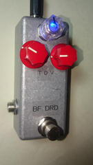 小型 BearFoot Dyna Red Distortion クローンMODの自作 h/w