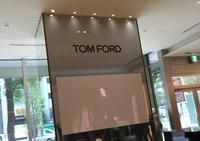 TOM FORD New York Collectionをライブで