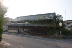 Japanese-style private house 蔵造りの民家