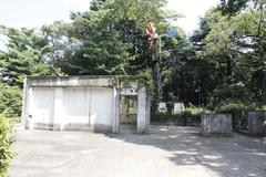 Former French Consulate House ruins 旧フランス領事館邸遺構