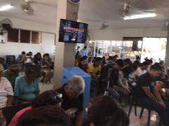 at Church in Medillien in the philippines
