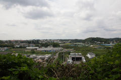 View from the hill 高台からの眺望 2016年9月