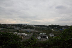 View from the hill 高台からの眺望 2016年10月
