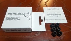 Crystalline audio Crystal tipsが届きました。