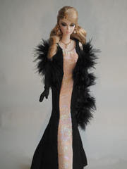 Original Dolldress 007 Black and Pink